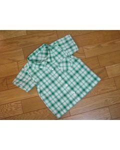 子供用 半袖オーバーシャツ型紙と作り方【ダウンロード版】