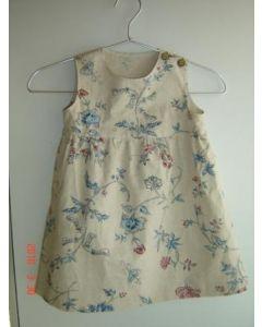 子供服 ノースリーブワンピースの型紙