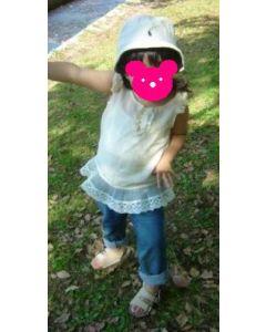 子供服 フリルタンクトップの型紙