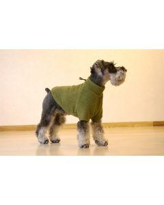 【犬の服】フワフワフリースのトップ型紙と作り方