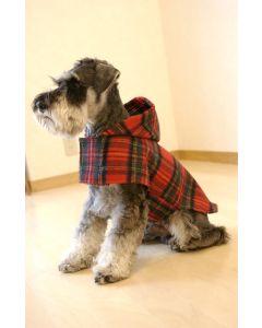 【犬の服】ポンチョ風コート型紙と作り方
