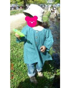 子供服 チュニックブラウスの型紙【ダウンロード版】