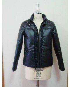 【お買い得セール】スタンドカラー中綿入りジャケット【サンプル制作で使用したカット済み型紙】と作り方