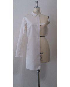 【グレーディングルール付き】小さめ衿のドルマンスリーブコート型紙と作り方【ダウンロード版】data-ori-co-006-gr