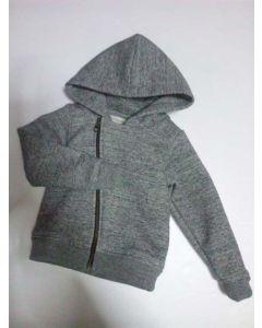 子供用ライダース風フード付きジャケット型紙と作り方