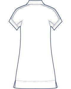 リネンで作る半袖ドルマンシャツブラウス型紙(パターン)
