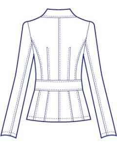 ストレッチテーラードジャケット型紙(パターン)