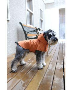 【犬の服】雨の日のお散歩用コート型紙と作り方