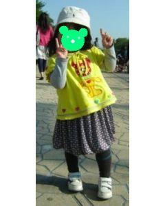 子供服 バルーンスカートの型紙