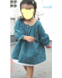 子供服 ペチコートの型紙【ダウンロード版】
